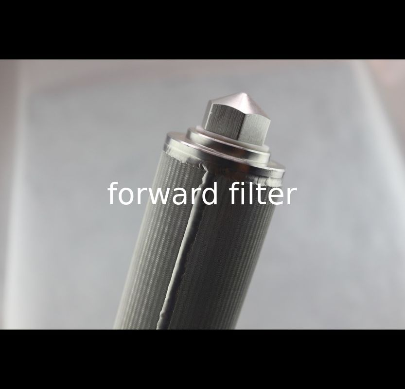 Instrument Filter Perforated Metal Cylinder High Strength Structure Length 10mm-6000mm